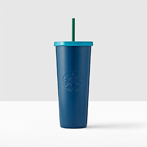 Starbucks Stainless Steel Cold Cup, 24 fl oz, Navy Blue