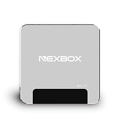 Wintel Mini PC Nexbox T9 Pocket Compter Intel Z8300 1.84GHz 4-Cores 4GB RAM 64GB ROM with Bluetooth 4.0 100M LAN HDMI 2.0