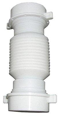 Larsen Supply 03-4355 White Plastic Flexible Universal Slip Coupling