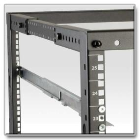 Add more functionality to your 4-post racks!