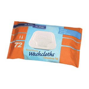 48WCCP1000CA - Attends Washcloth, Large 8 x 12-1/2