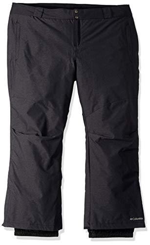(Columbia Bugaboo Ii Plus Size Pants, 2X x Regular, Black Crossdye)