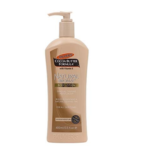 Palmers Cocoa Butter Formula Natural Bronze Body Lotion, Gradual Tanning Moisturizer, 13.5 Oz.