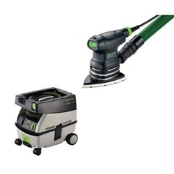 Festool DTS 400 EQ Sander + CT Mini Dust Extractor (Mini Dust Extractor Package)