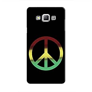 Cover It Up - RYG Peace Galaxy A5 Hard Case