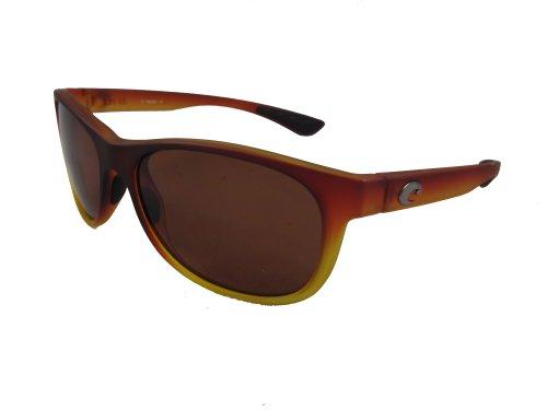 Costa Del Mar Prop Adult Polarized Sunglasses, Matte Sunset Fade/Copper 580P, ()