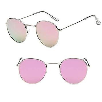 Xiaotaiyang Gafas de Sol Redondas para Mujer Gafas de Sol de ...
