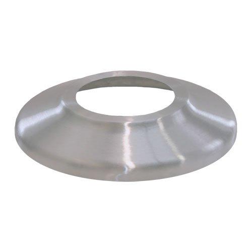 Standard Profile Aluminum Flash Collar- Silver, 4