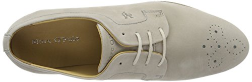 Marc 70113853401200 Mujer Lace para de O'Polo Stone Zapatos Up Gris Cordones 145 Brogue Rrq5RCwUx