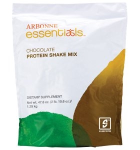 Arbonne Chocolate Protein Shake, 2lb. 15.6oz. Review