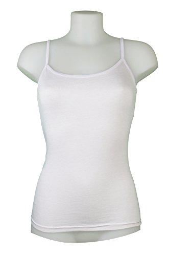 Miss Rouge - Camiseta sin mangas - para mujer negro-blanco