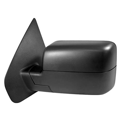 Replacement Driver Side Power View Mirror (Heated, Foldaway) Fits Ford F-150