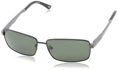 Polaroid X4407S Polarized Aviator Sunglasses,Black & Green Polarized,59 - Polariod Glasses
