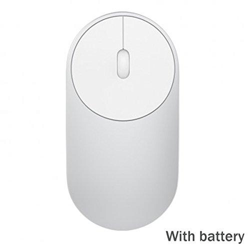 Silver Mouse Wireless Rf Optical (OLSUS Origina Mouse Portable Wireless Optical Wireless 4.0 RF Dual Mode)