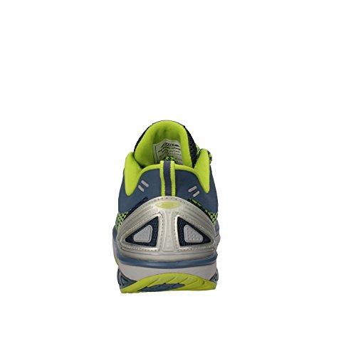 MBT Sneakers Hombre 42 EU Azul Verde Textil