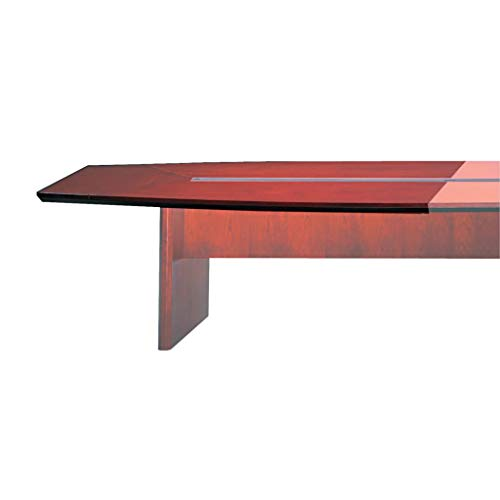 MLNCMT72STMAH - Shape : Boat - Mayline Corsica Series Modular Conference Table Top - Each