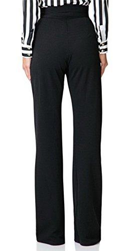 Molisry Women Casual Stretchy Straight Leg High Waisted Long Pants with Belt by Molisry (Image #4)