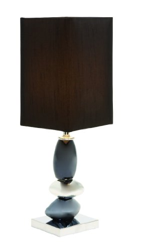 Kalini Table Lamp (Set of 2) Color: Black/ Silver