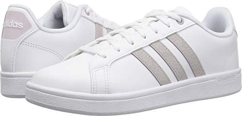 adidas Women's Cf Advantage Sneaker, White/ice Purple/Light Granite, 7 M US (Shoe Purple Skateboard)