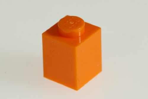 Lego Parts 100 Orange Bricks
