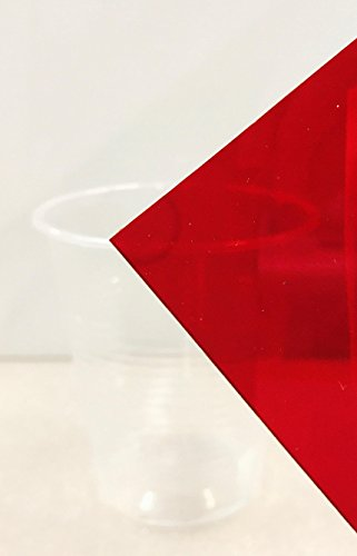 RED Acrylic Transparent # 2423-1/8