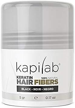 Kapilab Fibras Capilares (5 gramos, Negro): Amazon.es: Belleza