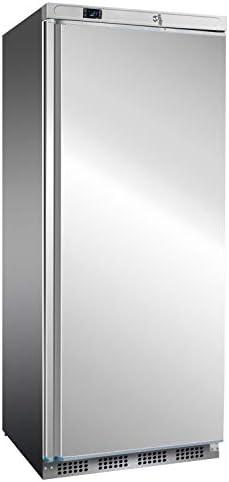 Congelador de acero inoxidable de 600 litros, nevera para ...