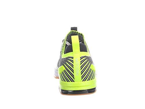 Nike Mens Metcon Dsx Flyknit 2 Nylon Löparskor Vit / Svart / Volt / Gummi Mellanbrun