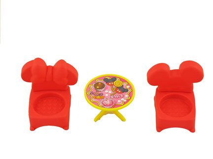 (Fisher Price Magic of Disney Mickey and Minnie's House Playset by Little People - Replacement Table &)