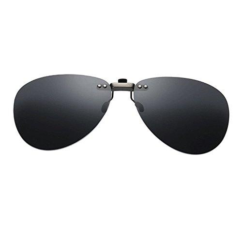 Marco UV400 Deylaying Conducir Negro Aviator Portección Vintage Sunglasses Eyewear Reflejante Hombre de Sol Mujer Polarizadas Anti Sin Gafas wTqY6vTxr