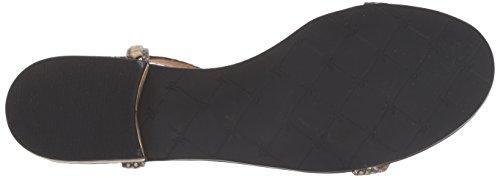 Jack Rogers Women Cheney Dress Sandal Black/Gold