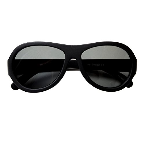 MFS- Baby Aviators 110mm - Black 1 Pack - Sunglasses Boy Baby