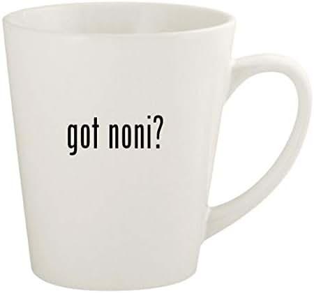 got noni? - 12oz Ceramic Latte Coffee Mug Cup, White
