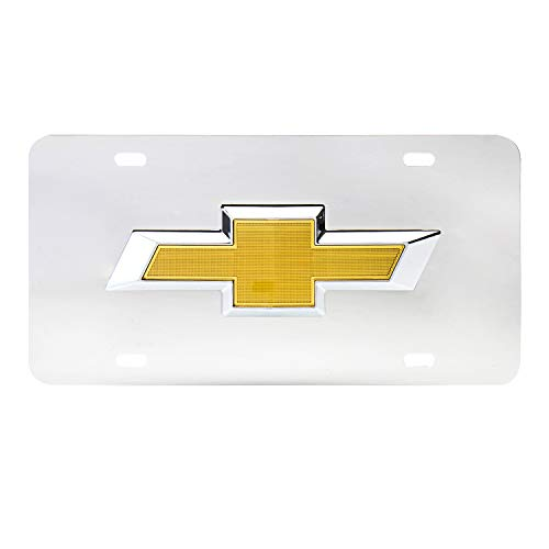 Pilot LP-011B Chevrolet Chrome 3D Plate