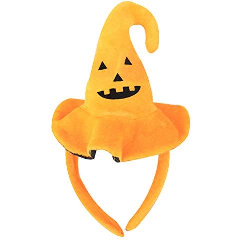 xiangliood Halloween Bat Spider Ghost Skull Pumpkin Kid Children Hairband Hat Costume Party