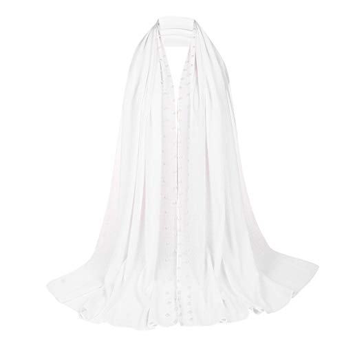 Women Lace Scarf Lightweight Shawl,Soft Contracted Style Lace Soft Scarf Shawl