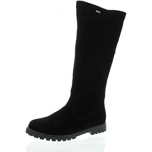 en matelas taille REMONTE chaussures noir bottes femme grande Rn4qSZF