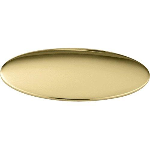 KOHLER K-8830-PB Sink Hole Cover, Vibrant Polished Brass