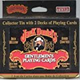 Jack Daniel's Gentlemen's Playing Cards with Cards