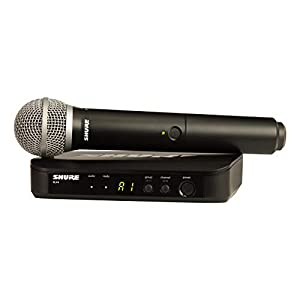 Shure BLX24/PG58 Wireless Microphone System w...
