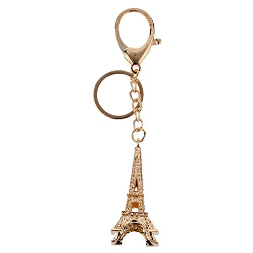 [해외]NATFUR Metal Shinning Retro Eiffel Tower Charm Pendant Keychain Keyring Gift Gold Perfect Pretty Novelty Beautiful Great Fine / NATFUR Metal Shinning Retro Eiffel Tower Charm Pendant Keychain Keyring Gift Gold Perfect Pretty Novelt...