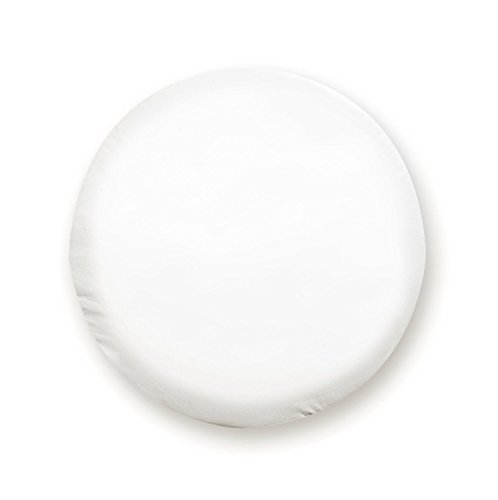 Truck Spare Tire Cover (ADCO 1759 Polar White Vinyl Tire Cover N (Fits 24