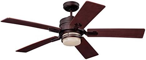 Emerson CF880LVNB Amhurst 54-inch Transitional Ceiling Fan