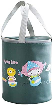 Cartoon Lunch Bag Oxford Doek Verdikte Aluminiumfolie Isolatie Gesoleerde Lunch Box voor Kantoor Werk School Picknick Strand Lekvrije Koeler Tote Bag Herbruikbare Freezable Lunch Container Bag