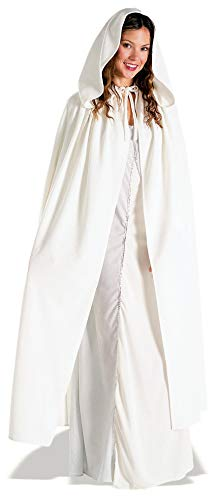 Rubie's Women's Lord of The Rings Elven Cloak, Arwen White, Standard -