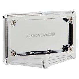 Arlen Ness V-1160 License Plate Frame - Chrome