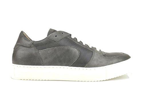 US Liu Sneakers Leather Man Jo 10 AH398 43 EU Shoes Gray 8rwq8Hf