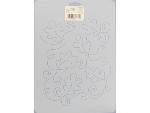 Dritz Notions DRI3734 9'' Longarm Allover Vine Leaf Quilting Stencil by Dritz