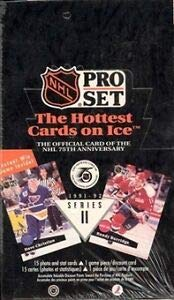 1991-92 Proset NHL Hockey Series 2 Factory Sealed Box