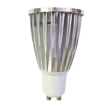 6W LED Spotlight GU10 1COB 480Lm Warm White/White Non-Dimmable AC220-240V 10Pcs , 220-240v